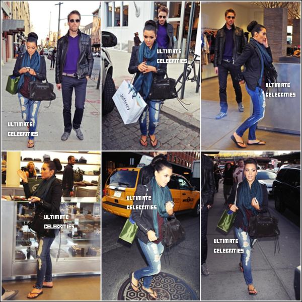 Le 1O Novembre : Kim à fait du shopping à Manhattan , Top ou Flop sa tenue , perso c'est un top ;p