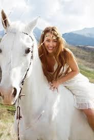 voici hannah avec son cheval