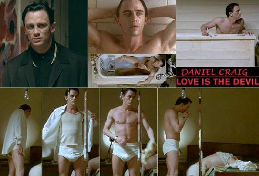 "Oh Daniel he's so Sexy in ""Love Is The Devil""<3"
