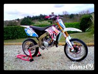 Rieju SMX 50 Replica Ktm White