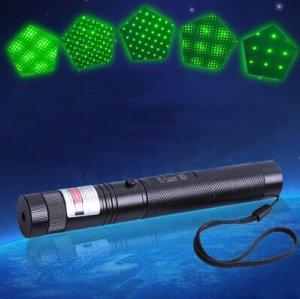 高い出力安定性でプレゼンに最適な高品質緑色レーザーポインター