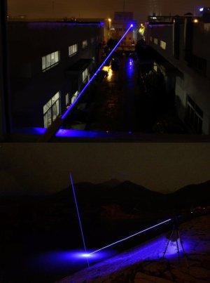 レーザーポインターあなたの目が見えました、 非常に天体観測に適した夜に