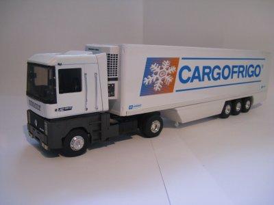 "RENAULT MAGNUM AE500 + REMORQUE LAMBERET ""CARGOFRIGO"" (Eligor/LBS)"