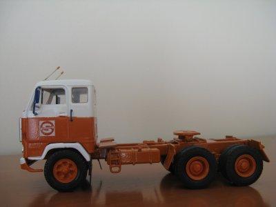 """VOLVO F89 (6x4) """"SOVTRANSAVTO"""" USSR 1976  (My modification)"""