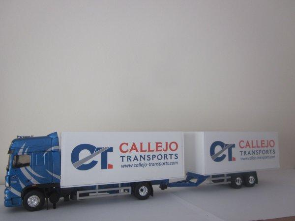 "DAF XF105 ""Callejo Transport"" - Eligor/LBS."