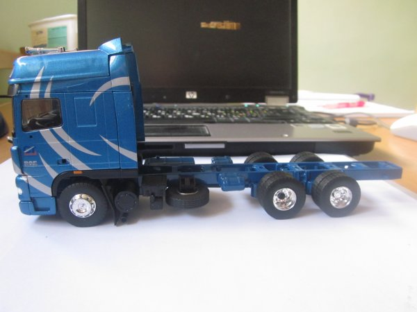 "DAF XF105 ""Callejo Transport"" - Eligor (Part 2)"