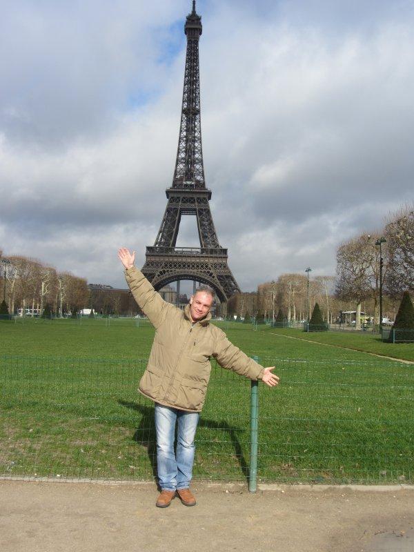 Hourra! Je suis à Paris