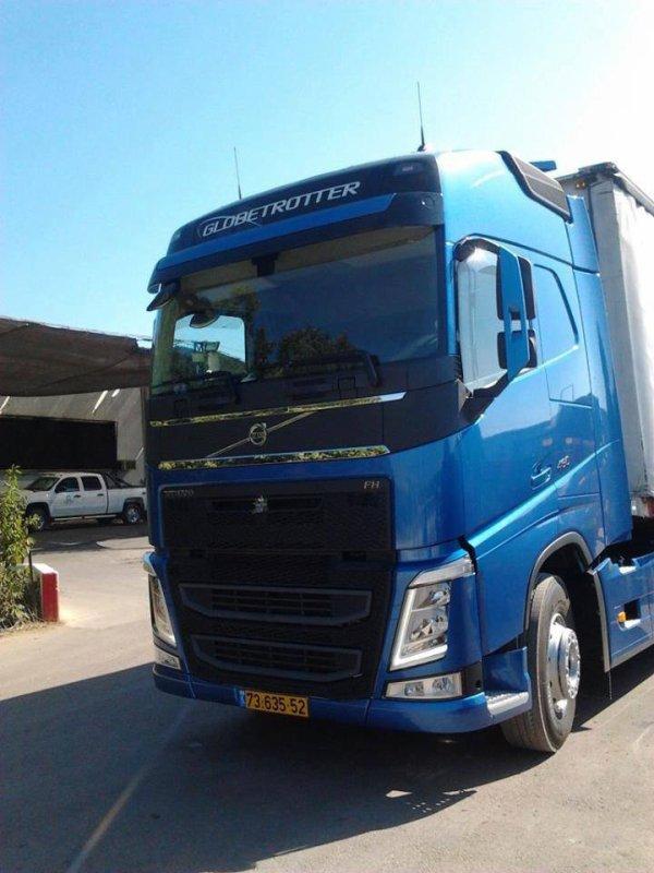 Nouvelle Volvo FH en Israël