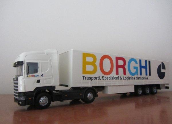 """SCANIA 144 """"BORGHI"""" (Old Cars)"""