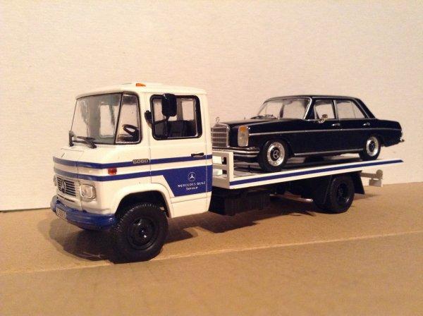 MERCEDES BENZ L 608 D + MERCEDES BENZ 200 (Altaya)