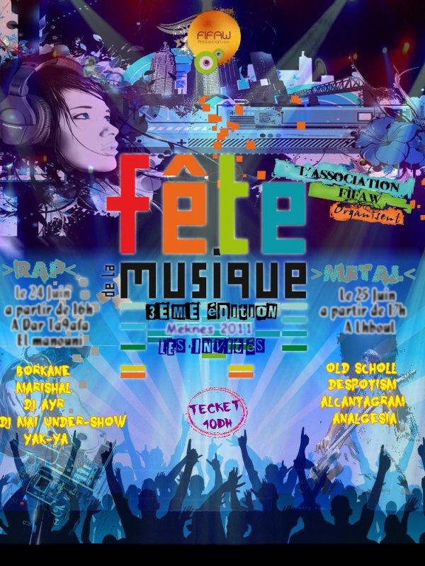 La Fête de la musique en 3ème Edition 2011