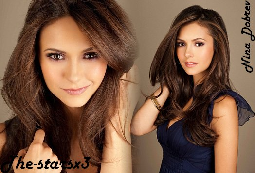 Nina Dobrev & The Vampire Diaries. x3