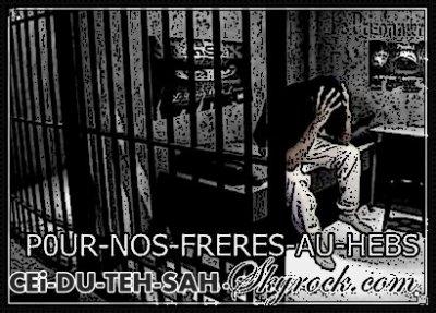 ~ ` LA PRiiSON C`EST DURE , MAiiS LA SORTiiE C`EST SURE !  GROSSE PENCER A TOUT NOS FRERES ENFERMER ! ♥