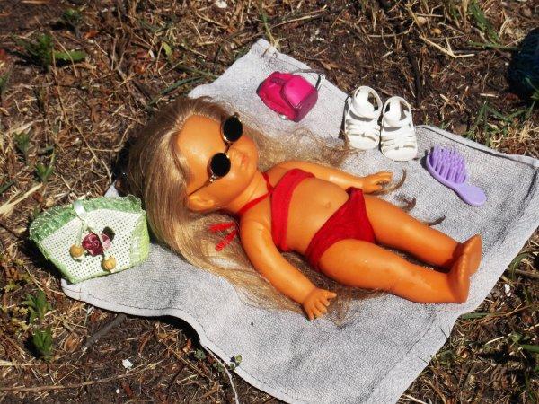 BRONSSETINE prend son premier bain de soleil