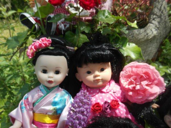 Beautés venues d'Asie.....