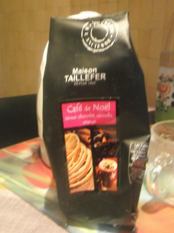 swap du 22 decembre : un delicieux café de Noel saveur  chocolat canelle et orange