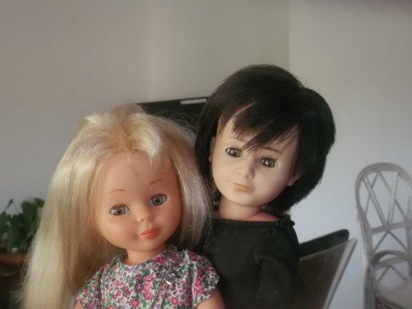 Nancy et Lucas et moi nous vous souhaitons une tres belle soiree