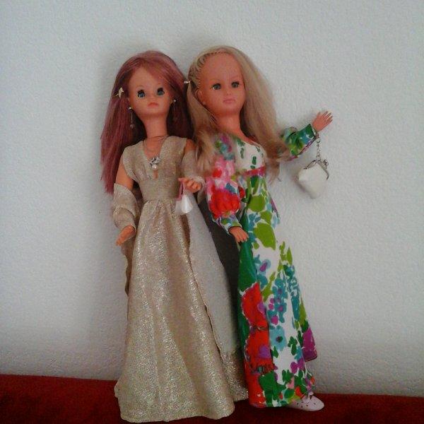 Si jolies CAthy et Dolly en ce dimanche