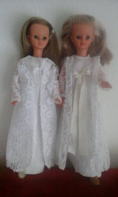 Mes deux princesses inséparables du soir vous souhaitent une douce soirée