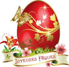 Bonnes fêtes de Pâques!