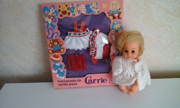 Carrie a choisi sa tenue.....