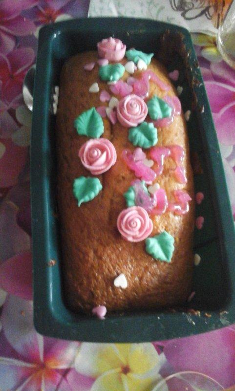Miam miam mon gâteau d anniversaire. ....