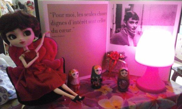 Sabrina pleine de charme , Audrey dans la sagesse....