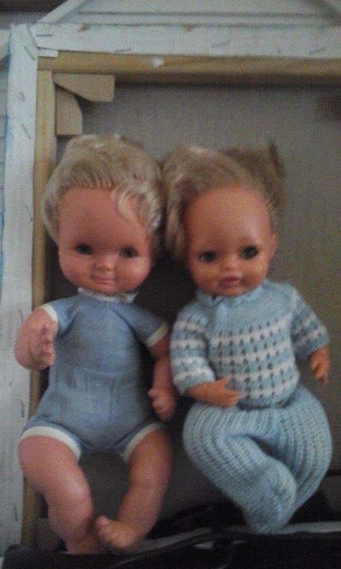 Deux adorables petits bebés....Clodrey et Bella