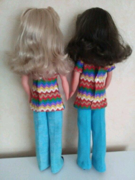 Nous sommes deux soeurettes jumelles nées sous le signe des gémeaux.