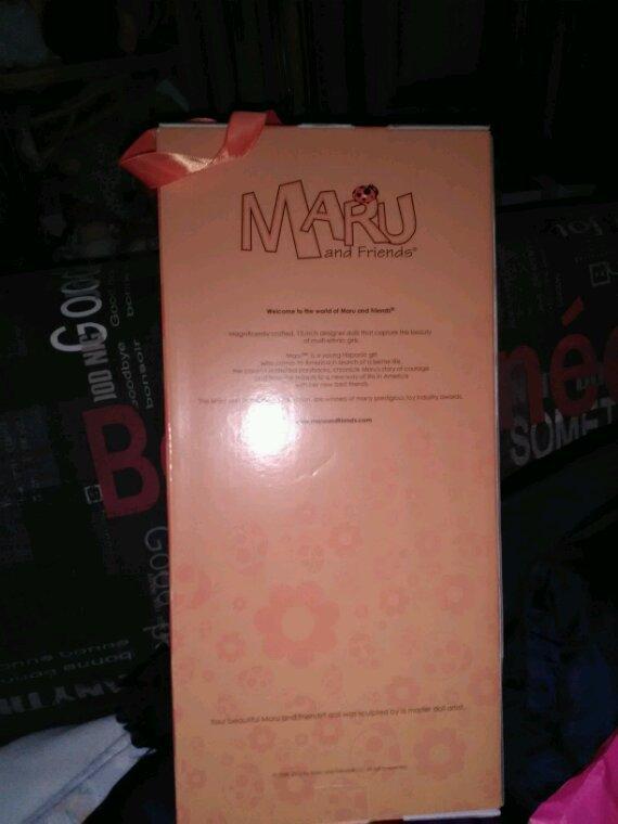 Voici mon cadeau.....mini Maru