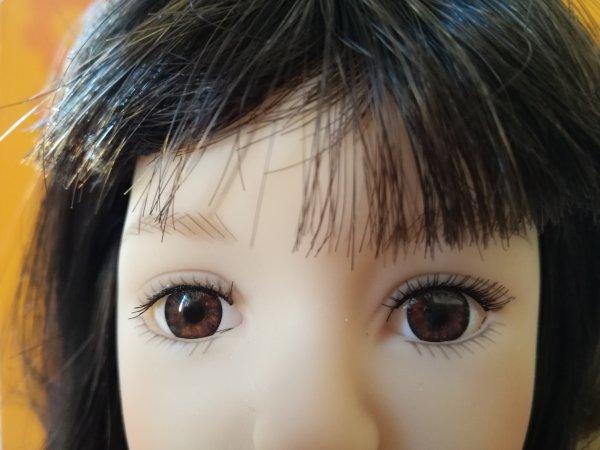 De tres jolis yeux marrons...