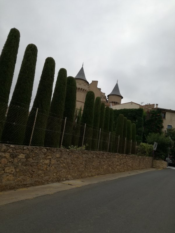 Le Château de Margon, Hérault.