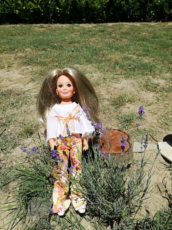 Coucou Lynda.....mais pas que....Tressy vous envoie un peu de soleil et quelques brins de lavande.