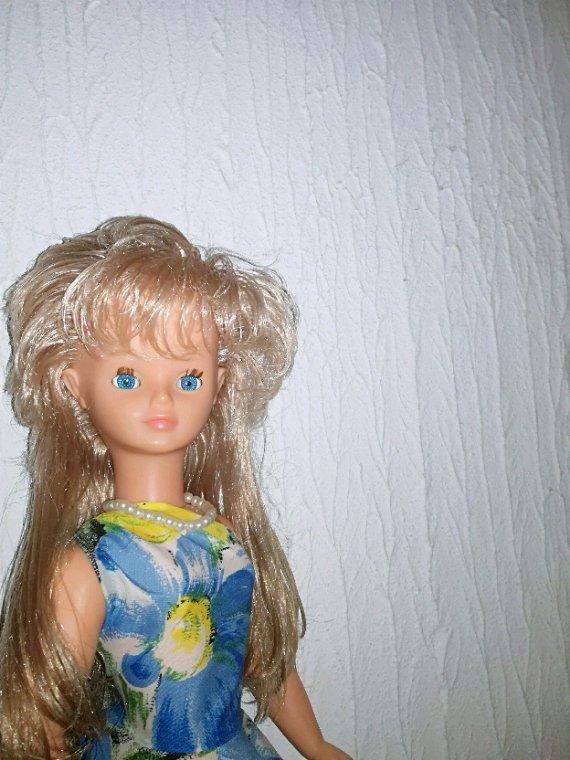 Une très jolie Cathy est sortie de mes cartons....je lui ai lavé ses cheveux, elle sent super bon.Elle vous souhaite avec moi une tres bonne et douce soirée.