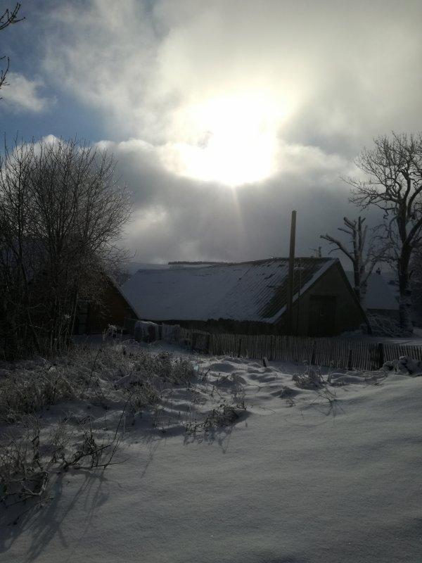 Beaucoup beaucoup de neige.....