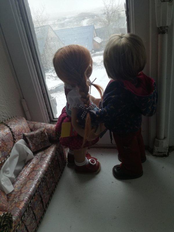 """Deux petits """" Z'amoureux""""...."""