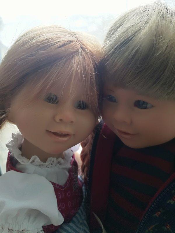 Willi et Rosie.. très jolie petit duo... très très complice.... bonne soirée.