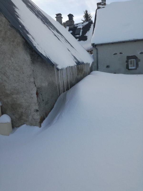 Paysage d hiver chez moi...
