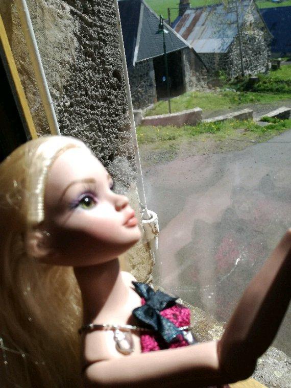 Ellowyne , ce matin, s'est mis à rêver devant sa fenêtre....