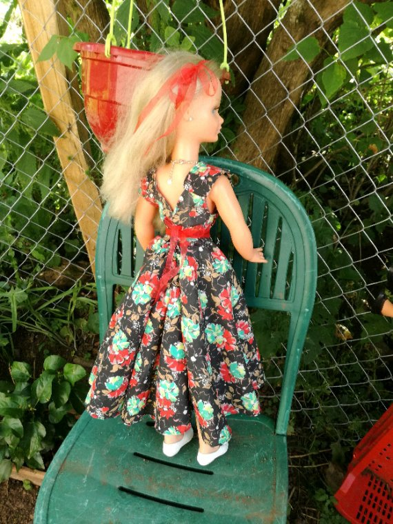 Une robe sur mesure.....