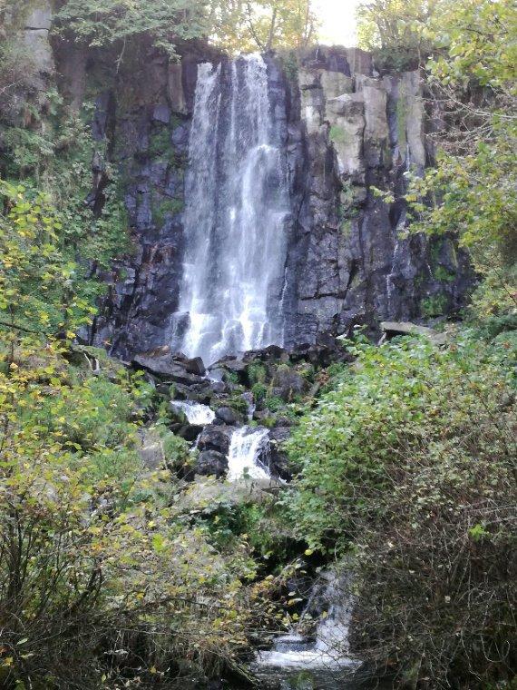 La Cascade de Vaucoux, Puy de Dôme
