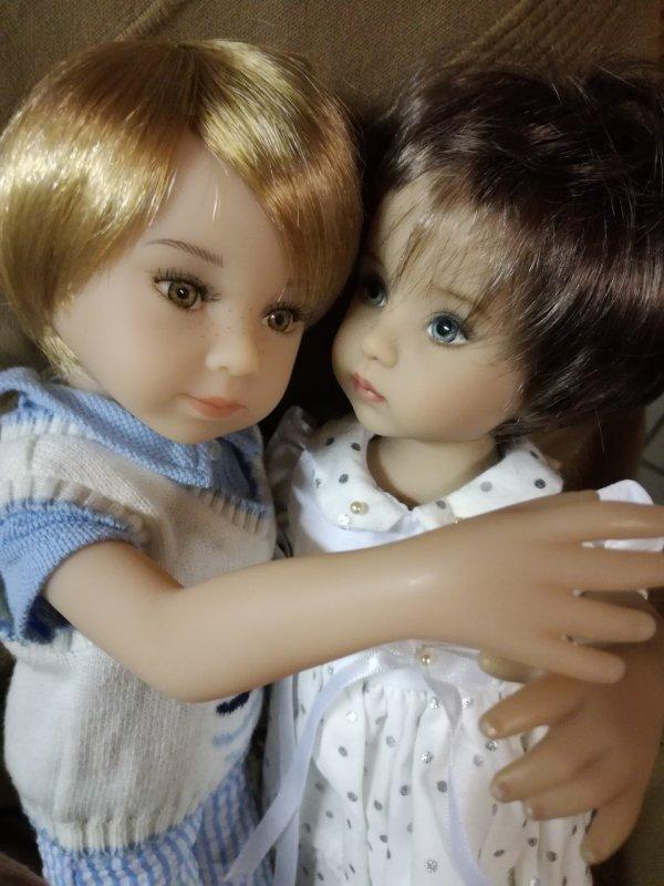 Annabelle et Noah et moi-même, nous vous souhaitons une très belle et douce soirée.