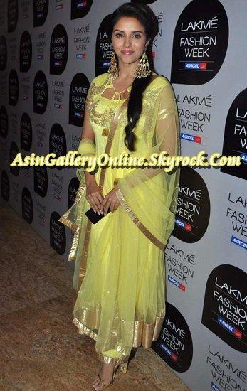 Asin in 2013: Lakme Fashion Week