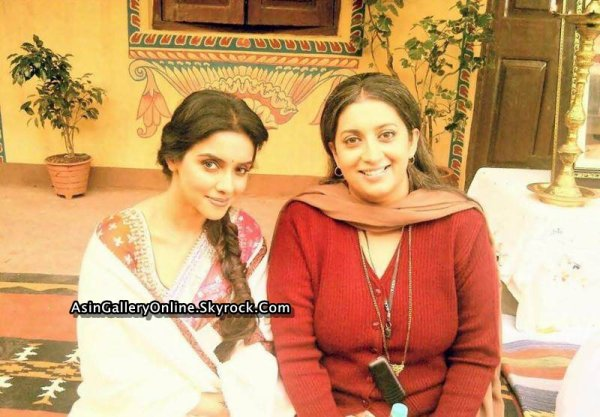 Asin in 2013: Asin on the sets of her upcoming film