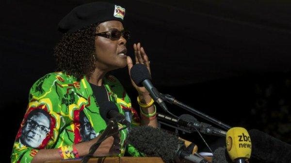 Grace Mugabe a obtenu l'immunité diplomatique des autorités sud-africaines