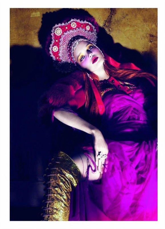 Souvenez-vous: Princess Natalia Vogue Paris Avril 2010 par Mert et Marcus