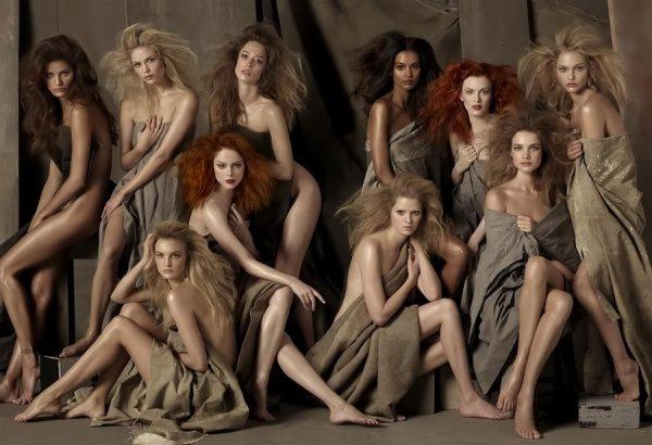 Souvenez-vous: Vogue US Mai 2009 par Steven Meisel