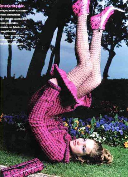 Souvenez-vous: Marie Claire France 2000 (Une femme est une femme) par Iris Brosh (1)