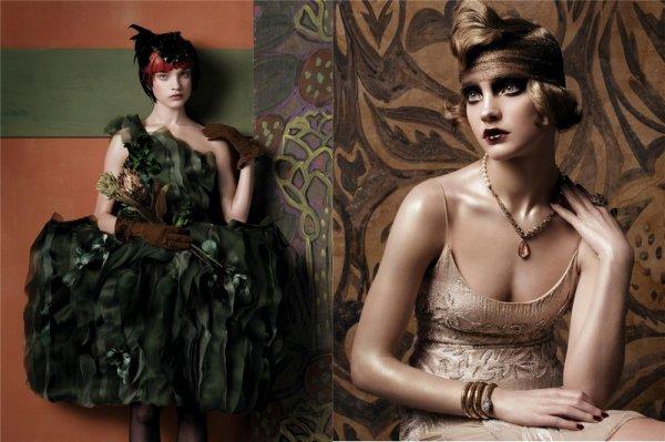 Souvenez-vous: Vogue US Mai 2007 (Fashioning the century) par Steven Meisel