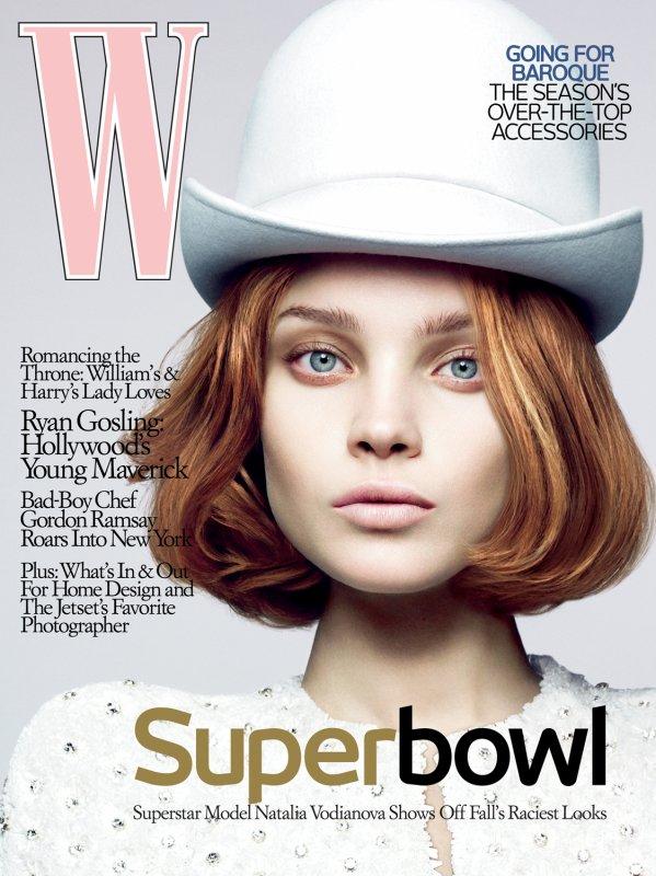 Souvenez-vous: W Magazine Septembre 2007 par (édito: Mert et Marcus en septembre 2006 ; couverture: Craig McDean en août 2006)